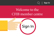 Member centre sign-in image